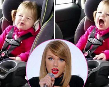 """Menina De 2 Anos Faz Sucesso Na Internet a """"Cantar"""" Taylor Swift No Carro 5"""