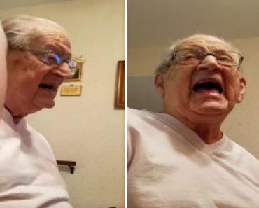 Senhor Tem Reação Memorável Ao Perceber Que Já Tem 98 Anos De Idade 8