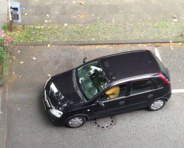 É Desesperante Ver a Dificuldade Desta Mulher Ao Tentar Estacionar o Seu Carro 6