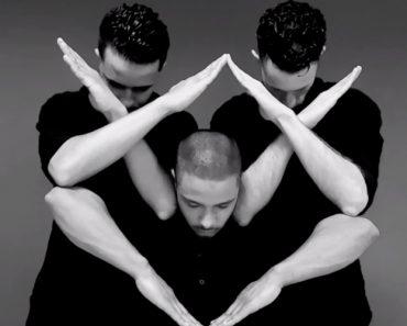 3 Bailarinos Mostram Sincronia Perfeita Com Invulgar Coreografia 1