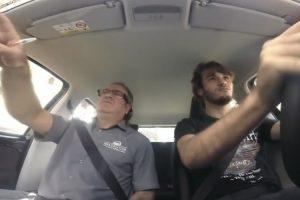 Câmara Oculta Em Carro Da Escola De Condução Apanha Instrutor Louco 10