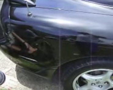 Como Reparar Uma Amolgadela Do carro Em Menos De 2 Minutos 6