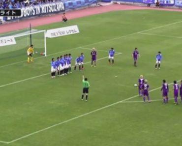 Equipa Japonesa Marca Golo Original Com Livre Em Fila Indiana 9
