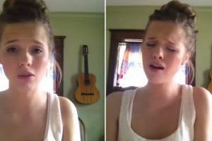 A Música Que Esta Jovem Toca e Canta é Verdadeiramente Arrepiante! 10