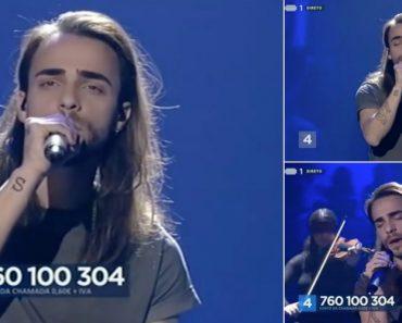 A Canção De Diogo Piçarra Que Obteve Pontuação Máxima No Festival Da Canção 4