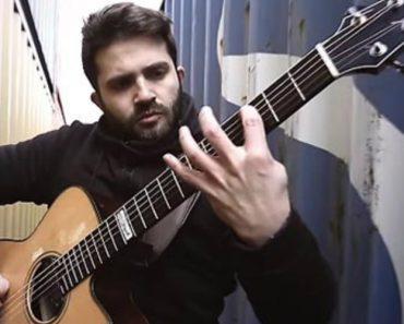 Talentoso Guitarrista Transforma The Prodigy Em Versão Acústica 6