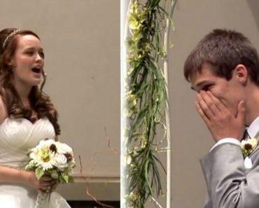 Noiva Deixa Noivo Em Lágrimas Ao Cantar a Sua Música Favorita Enquanto Sobe Ao Altar 3