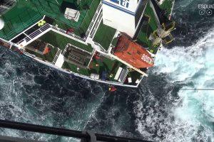 Imagens De Um Difícil Salvamento Da Força Aérea Portuguesa No Tejo 10