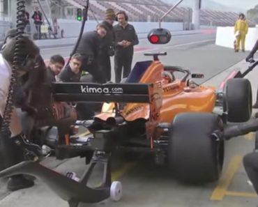 "Mclaren Protagoniza a ""Pit Stop"" Mais Cómica e Desastrada Da Fórmula 1 3"