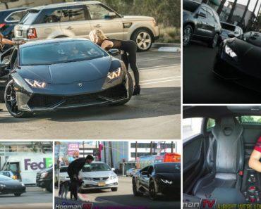 Uber Esperavam Um Toyota Prius Mas o Que Aparece é Um Lamborghini Huracán 5