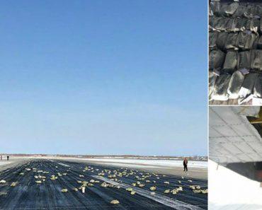 Chuva De Toneladas De Barras De Ouro Cai De Um Avião Na Rússia 3