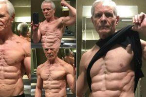 Idoso De 67 Anos Mostra a Sua Forma Física Impressionante 9