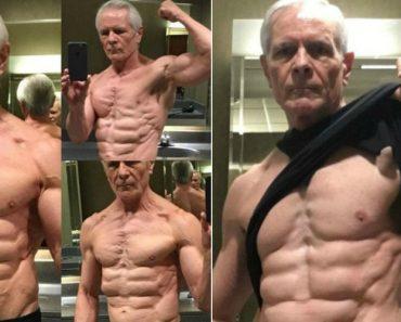Idoso De 67 Anos Mostra a Sua Forma Física Impressionante 1