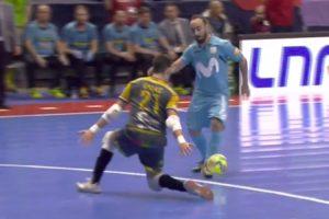 Incrível Golo De Ricardinho Na Final Da Taça De Espanha De Futsal 10