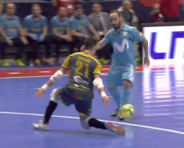 Incrível Golo De Ricardinho Na Final Da Taça De Espanha De Futsal 4