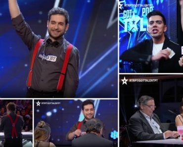 Distribuiu 52 Baralhos De Cartas Pelo Coliseu e Fez Magia Com Todos Eles No Got Talent Portugal 4