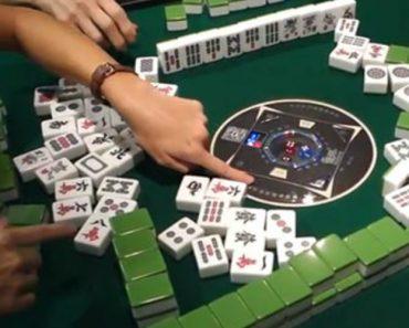 Esta Mesa Automática Faz Com Que o Jogo De Mahjong Seja Ainda Mais Interessante 8