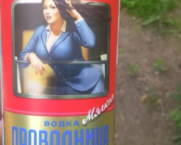 O Curioso Rótulo De Uma Garrafa De Vodka 11
