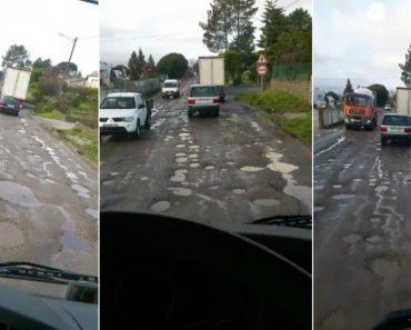 Vídeo De Estrada Portuguesa Torna se Viral Pelos Piores Motivos 5