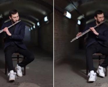 Talentoso Músico Combina Flauta Transversal Com Beatbox e o Resultado é Incrível 6