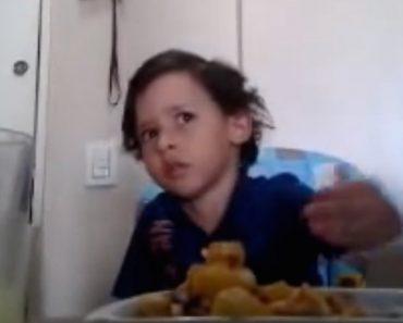 Criança Emociona Mãe Ao Explicar Porque Não Quer Comer Animais 3