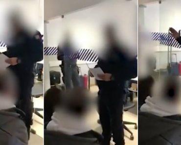 Agente Da Polícia Dá Sermão Bíblico a Jovens Detidos Numa Esquadra Do Porto 5