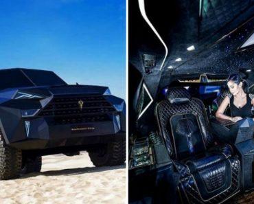 SUV Mais Caro e Luxuoso Do Mundo Que Terá Apenas 9 Unidades Produzidas 9
