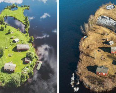 A Beleza Das 4 Estações Numa Pequena Ilha Da Finlândia 5