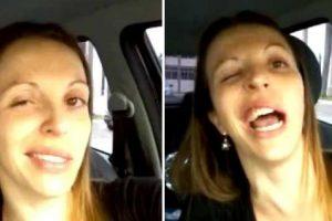Mulher Vai Ao Dentista e Faz Vídeo Épico Por Causa Da Anestesia 8