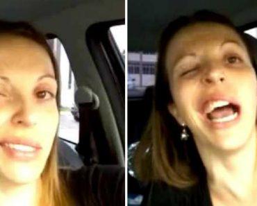 Mulher Vai Ao Dentista e Faz Vídeo Épico Por Causa Da Anestesia 3