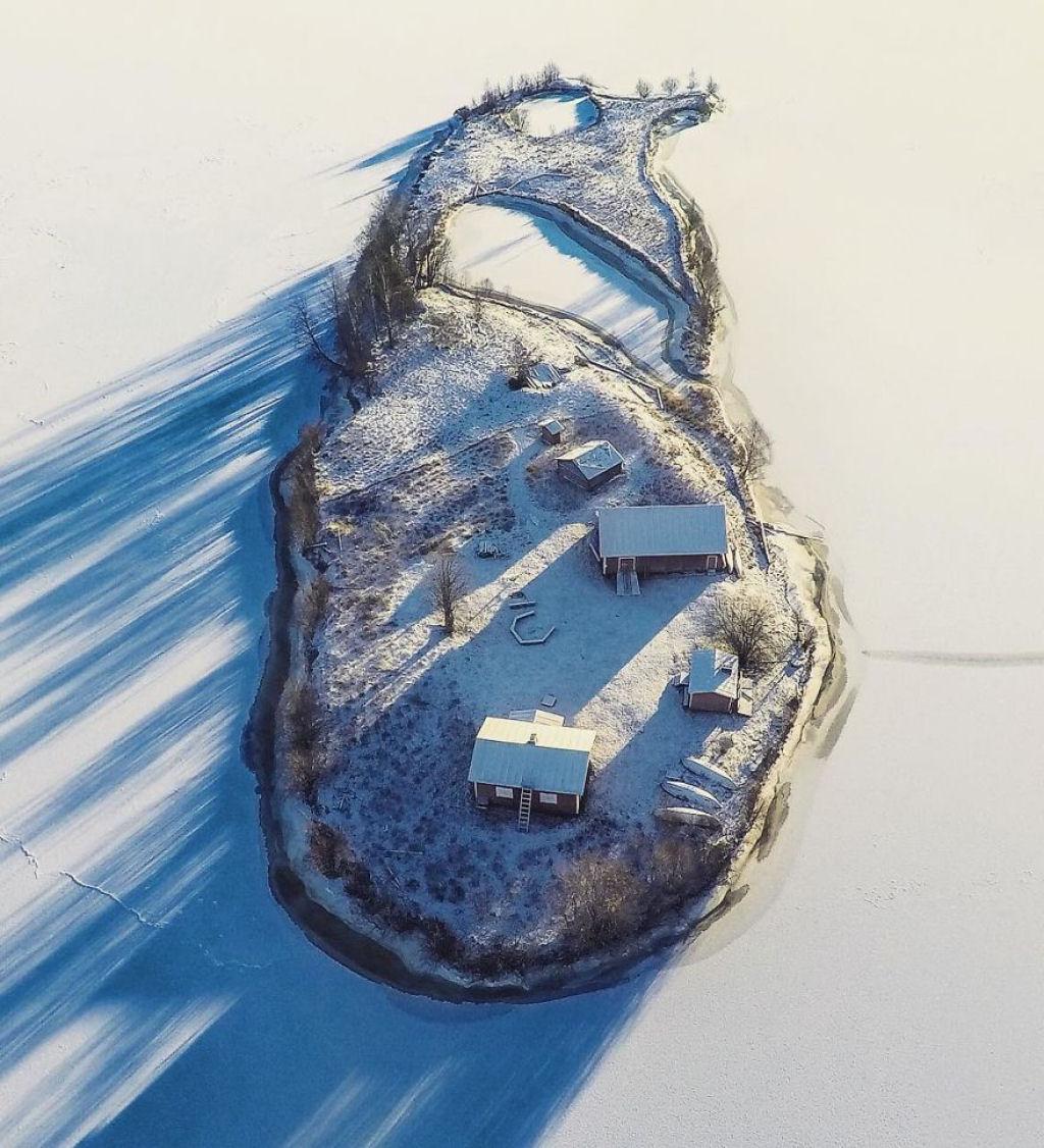 A Beleza Das 4 Estações Numa Pequena Ilha Da Finlândia 3