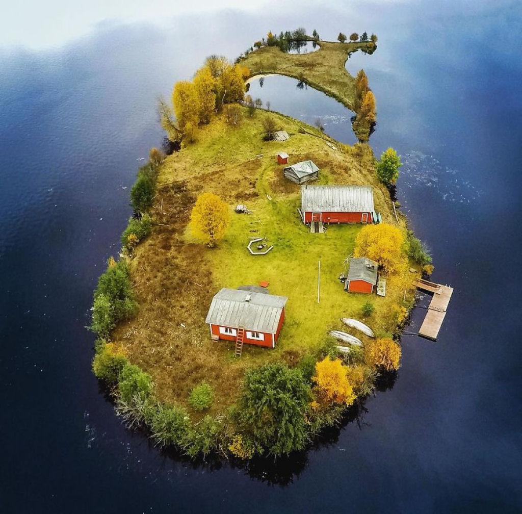 A Beleza Das 4 Estações Numa Pequena Ilha Da Finlândia 4