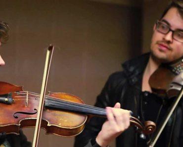 Jovens Dão Espetáculo Brilhante Com Violinos No Metro De Boston 8