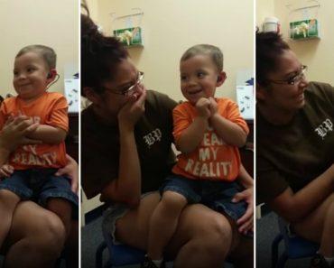 Menino De 2 Anos Ouve Pela Primeira Vez a Voz Da Mãe e a Felicidade Foi Imensa... De Arrepiar! 5