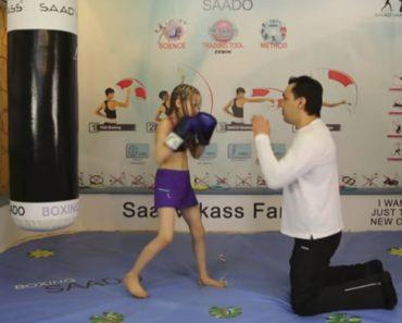 Impressionante Menina Boxeadora Com 10 Anos Consegue Efetuar 100 Golpes Por Minuto 9
