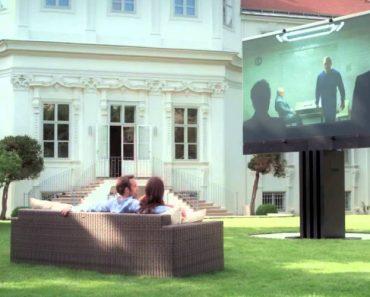 A Maior Televisão Do Mundo... Só Para Milionários! 2