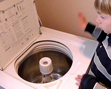 Menino Autista Mostra Todo o Seu Talento Na Máquina De Lavar 8