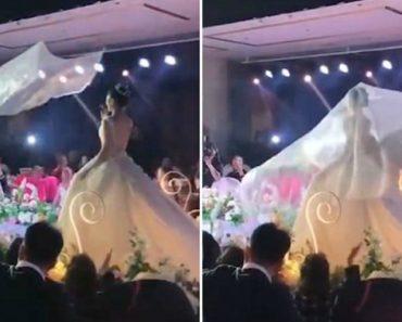 """Véu """"Flutuante"""" é a Nova Tendência Para As Noivas Da China 9"""