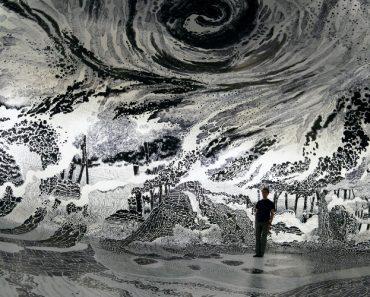 Artista Realiza Majestosa Imagem Em 360 Graus Depois De Gastar 120 Canetas Hidrográficas 7