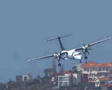 """Vídeo Mostra (Incrível) """"Luta"""" De Avião Da SATA Ao Aterrar Na Madeira 1"""