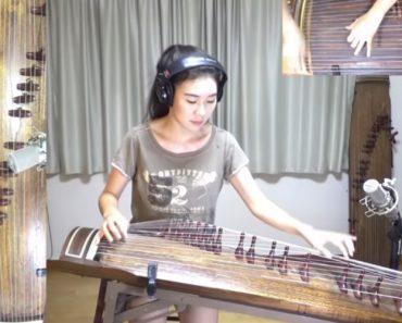 Coreana Faz Sensacional Versão De Clássico De Rock Usando Instrumento Tradicional Do Seu País 9