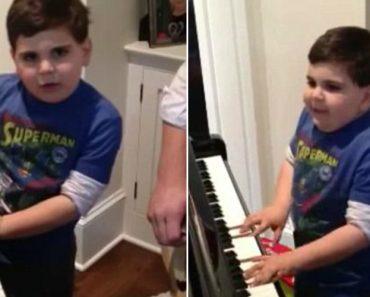 Menino Autista De 6 Anos Faz Sucesso a Tocar Billy Joel No Piano 8