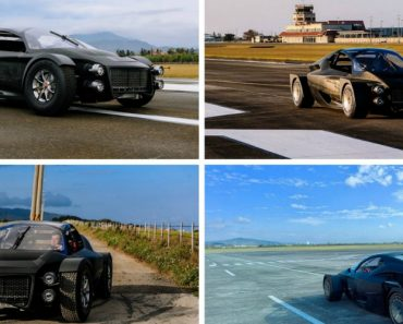 Nova Marca Desafia Tesla Com Desportivo Elétrico De 1300 cv 4