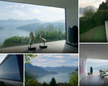 Mansão Na Suíça Com Uma Das Vistas Mais Extraordinárias Do Mundo... De Cortar a Respiração 1
