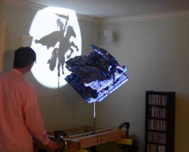 Incrível Escultura De Lego Cria Diferentes Sombras Conforme Vai Girando 6