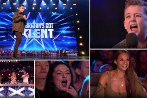 Menino Autista Emociona Ao Cantar Jackson 5 No Britain's Got Talent 10