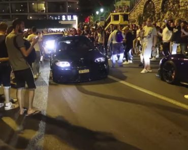 Caos Instala-se No Mónaco Envolvendo Carros De Luxo, Polícia e Muitos Curiosos 2