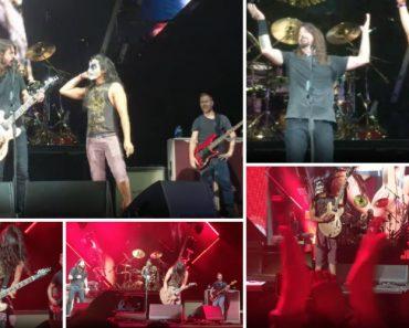 Dave Grohl Chamou Fã Ao Palco Para Tocar Com Os Foo Fighters e Ficou Louco Com o Que Aconteceu! 6