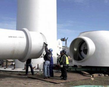 O Impressionante Processo De Montagem De Uma Turbina Eólica 4