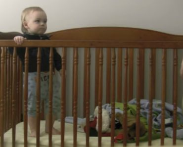 Astuto Bebé Descobre Sempre Maneira De Fugir Do Berço 2